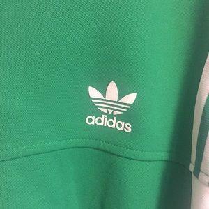Adidas Jackets Coats Track Jacket Green White Mens Xl Poshmark